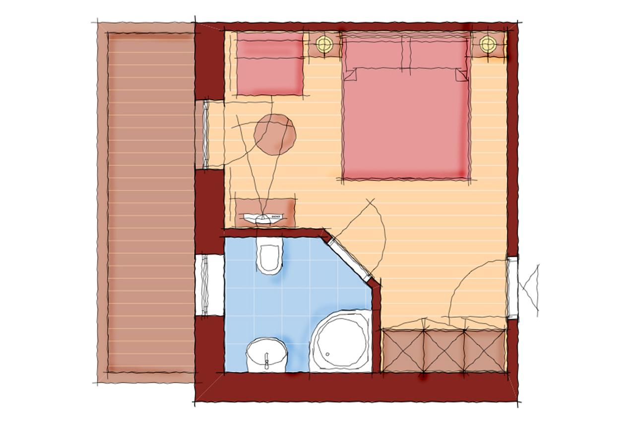 Doppelzimmer Almstüberl