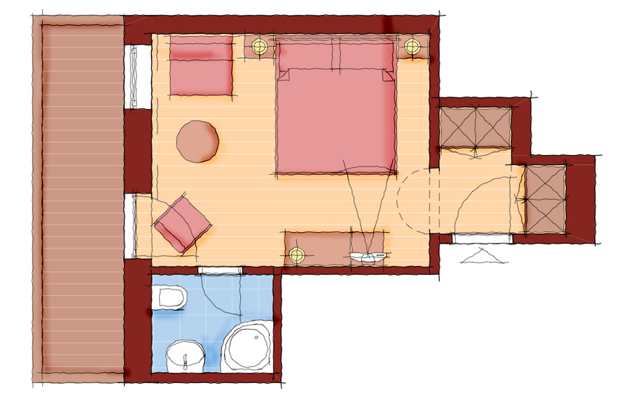Doppelzimmer Schärtenspitz