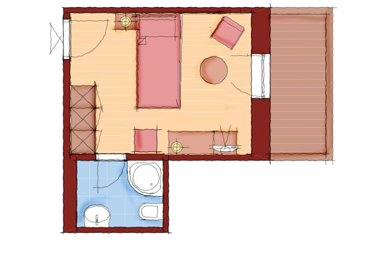 Einzelzimmer Schärtenspitz