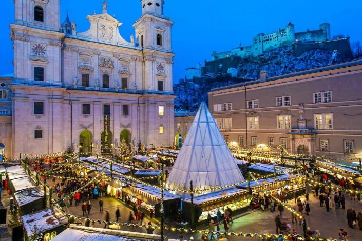 Salzburger Advent und Christkindlmarkt zu Weihnachten
