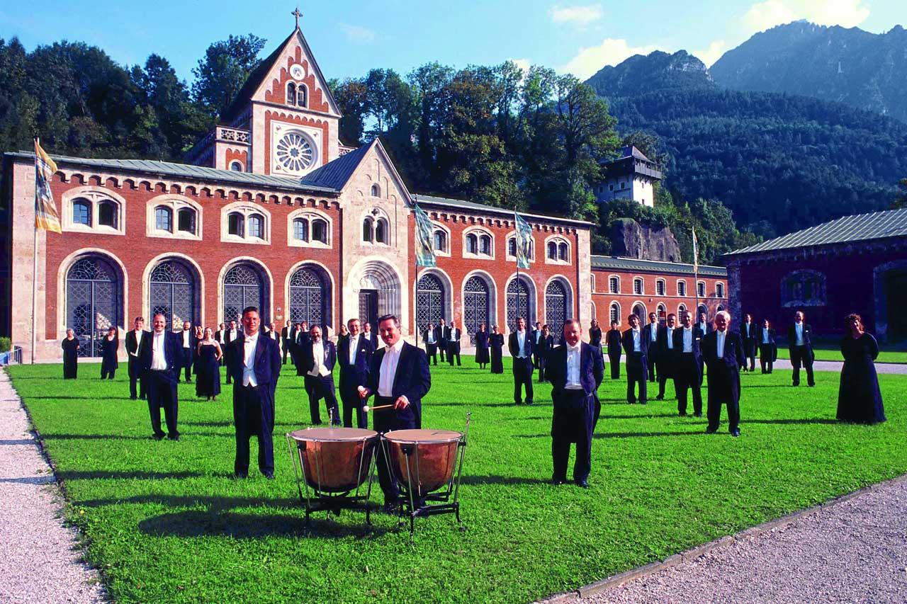 Alte Saline in Bad Reichenhall - mit den Philharmonikern
