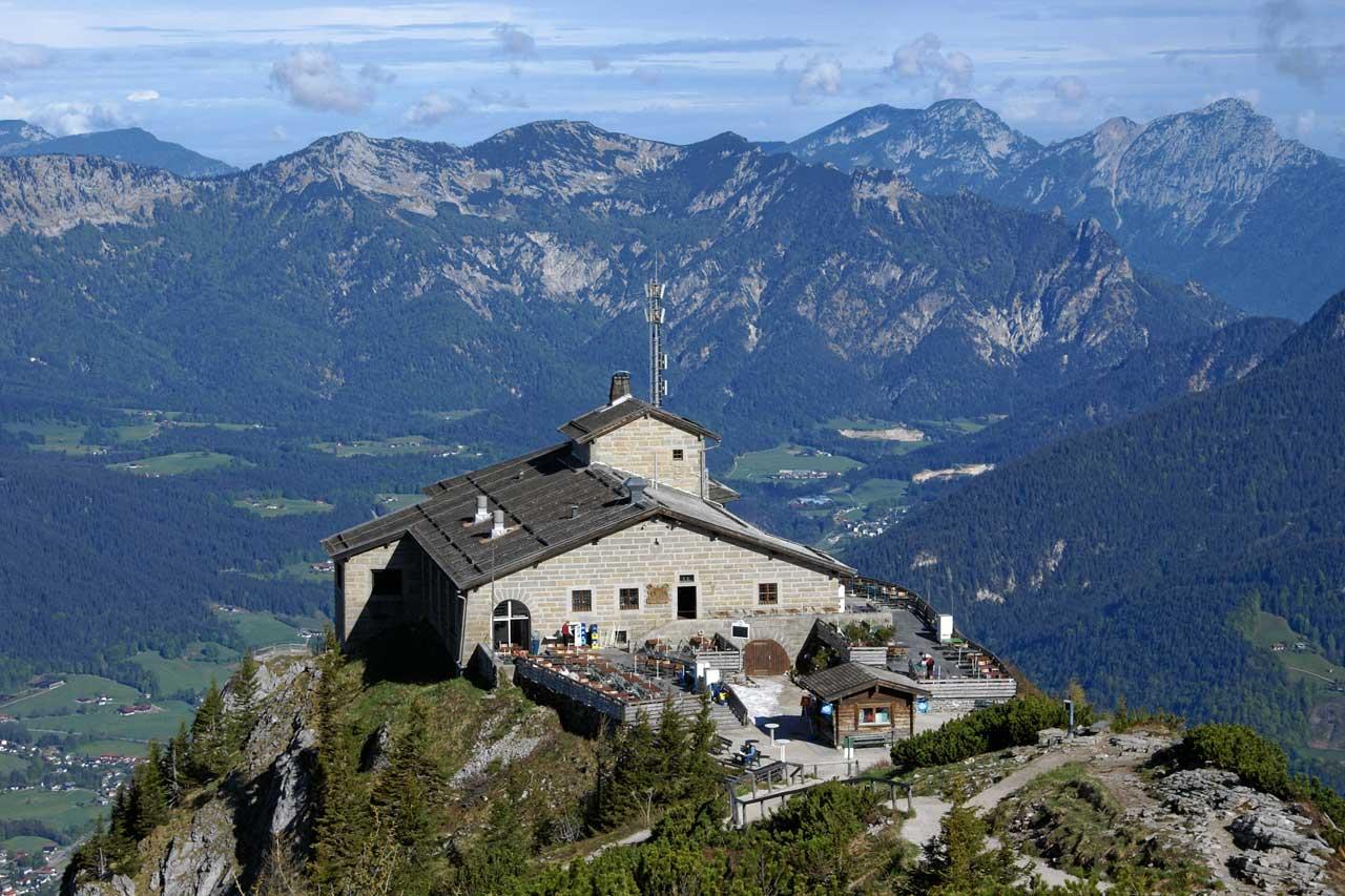 Kehlsteinhaus am Obersalzberg in Berchtesgaden