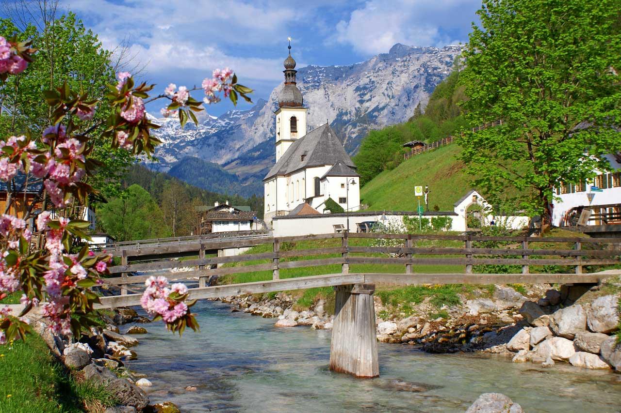 Erstes Bergsteigerdorf in Deutschladn - Ramsau b. Berchtesgaden
