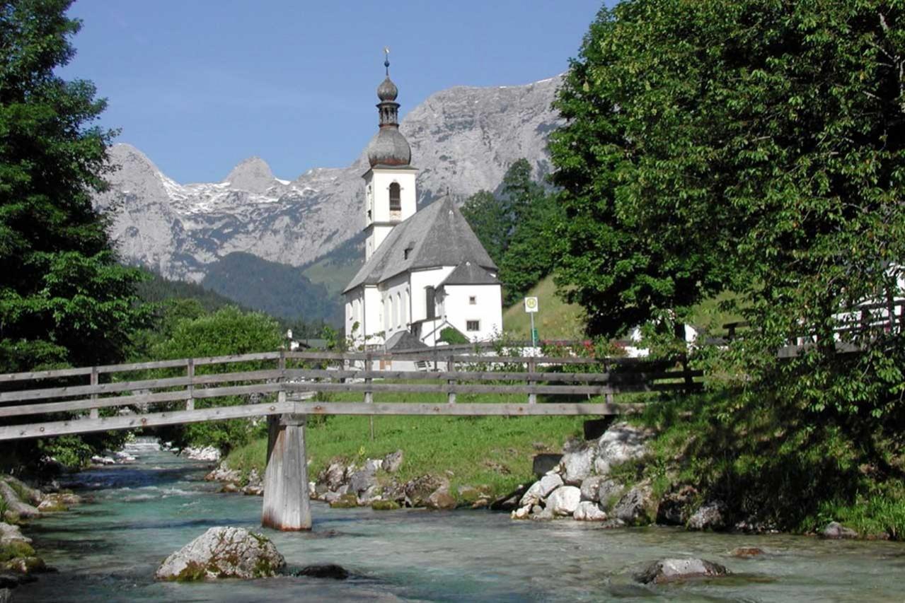 Kirche in Ramsau - 1. Bergsteigerdorf in Deutschland