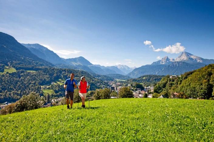 Nordic Walking im Berchtesgadener Land