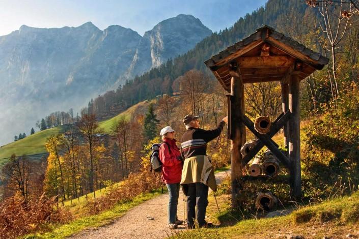 Wanderparadies Soleleitungsweg - von Berchtesgaden nach Bad Reichenhall