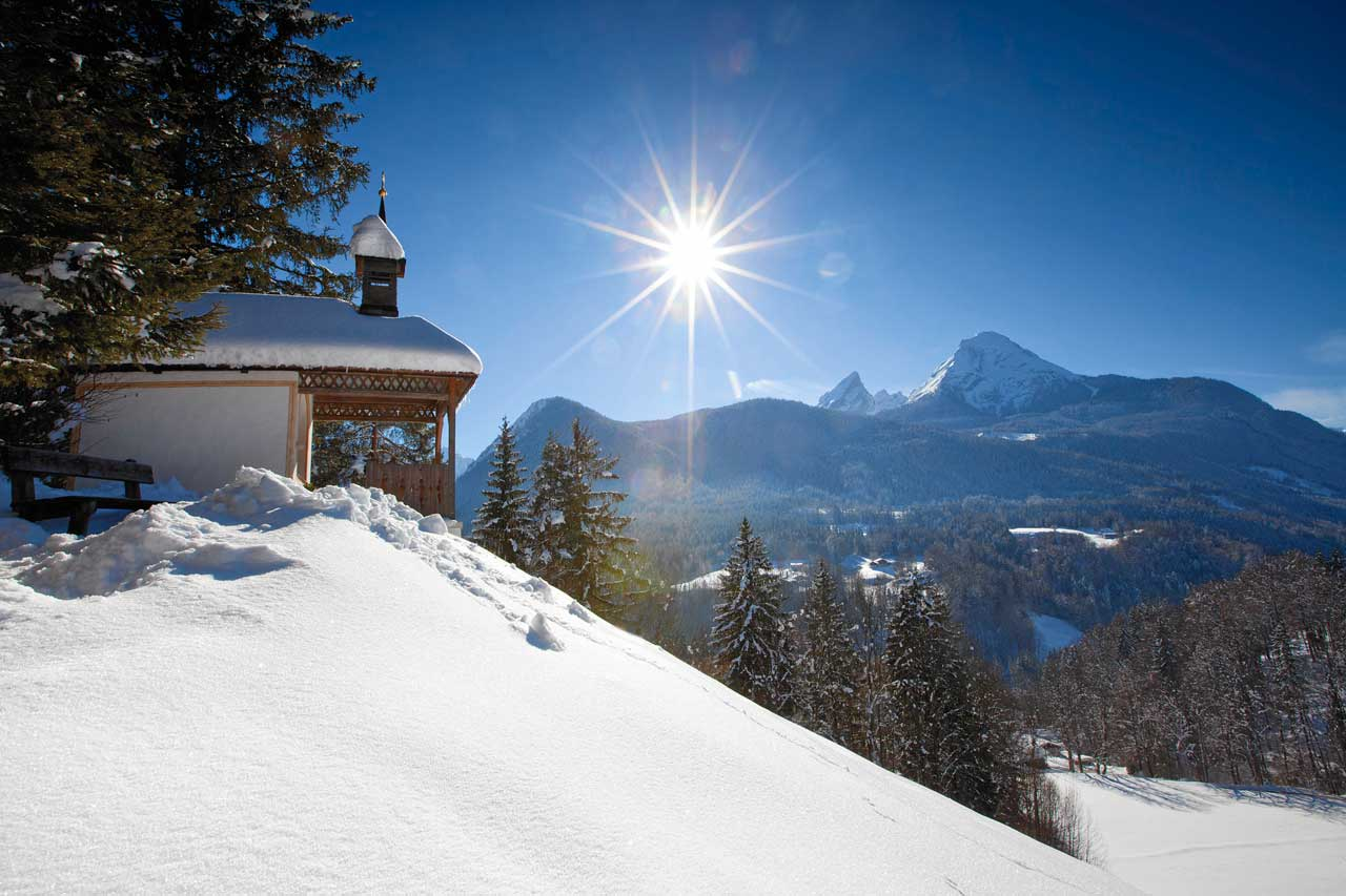 Winter Urlaub in Berchtesgaden