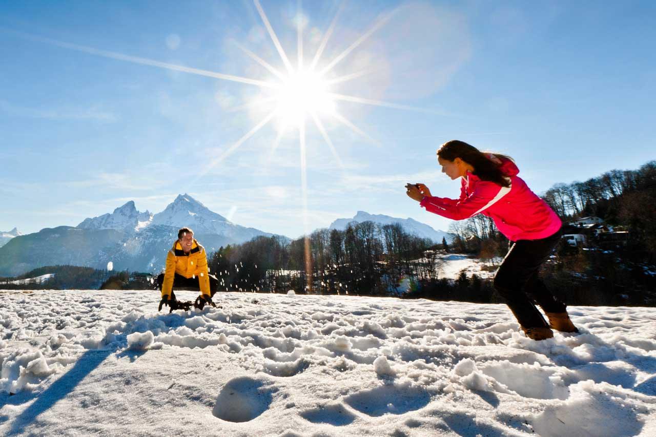 Winter Spaß im Schnee