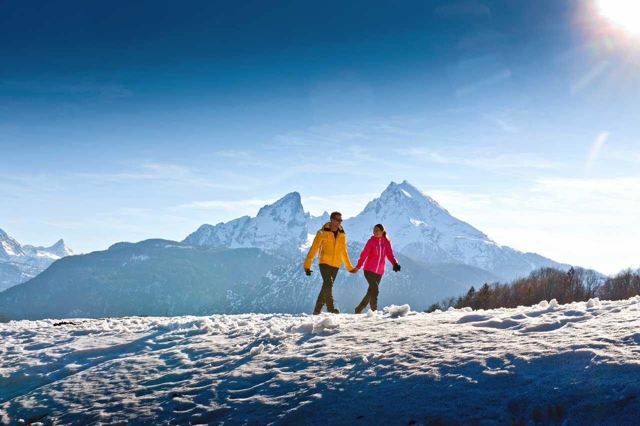 Winter Wandern im Berchtesgadener Land
