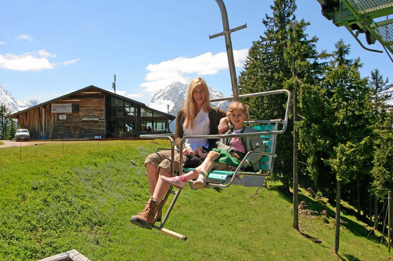 Hochschwarzeck Bergbahn in Ramsau b. Berchtesgaden