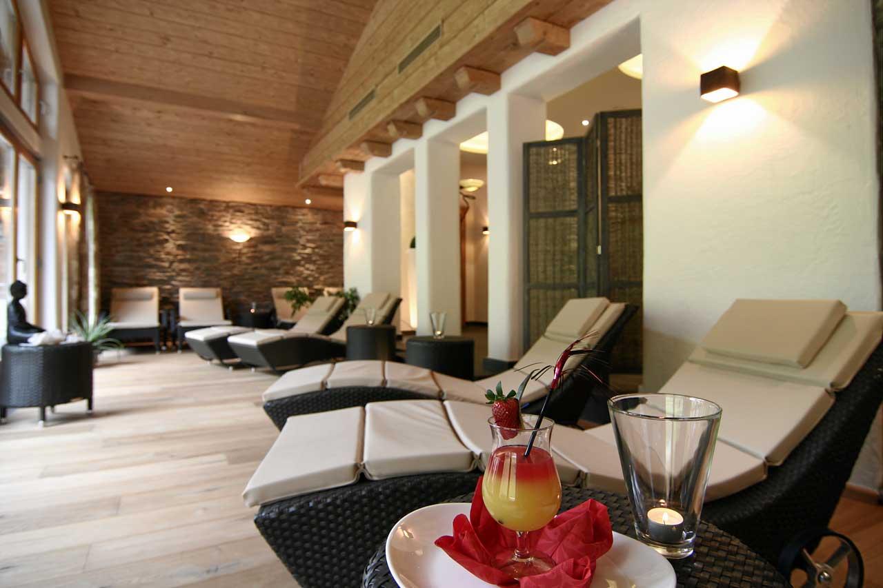 Hotel Hindenburglinde - Wellness und Spa Ruhebereich