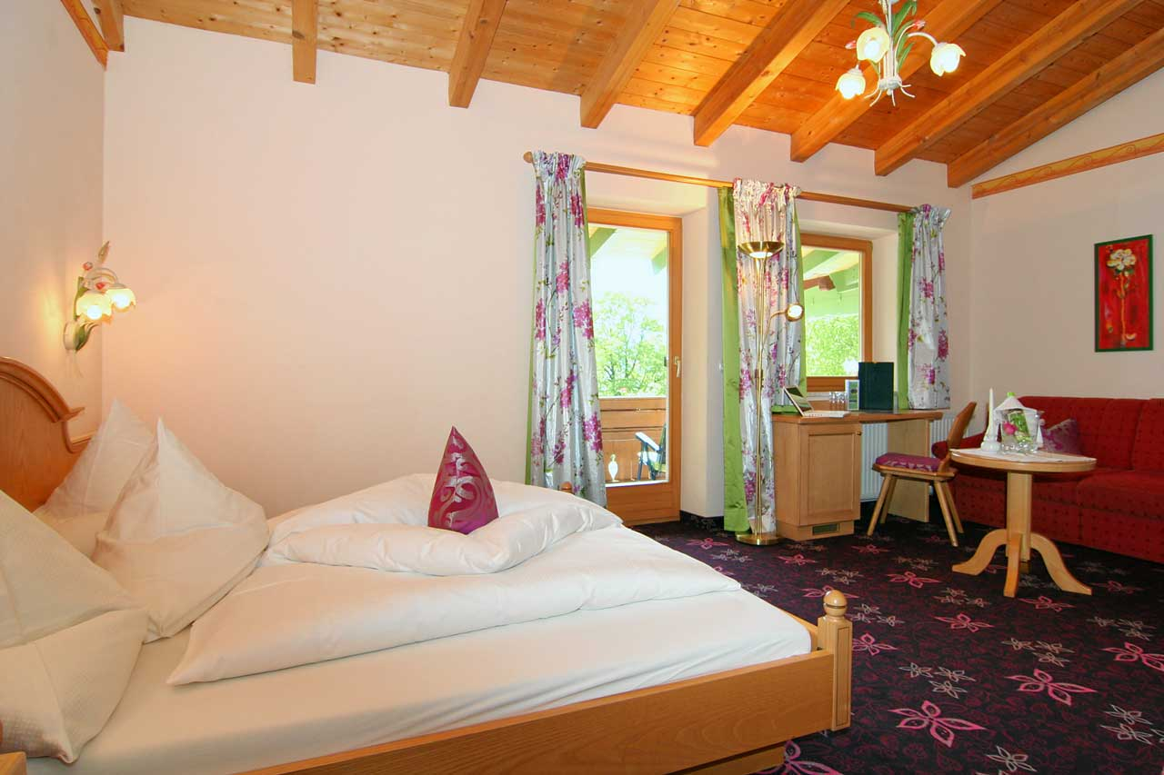 Komfort-Doppelzimmer Watzmannblick