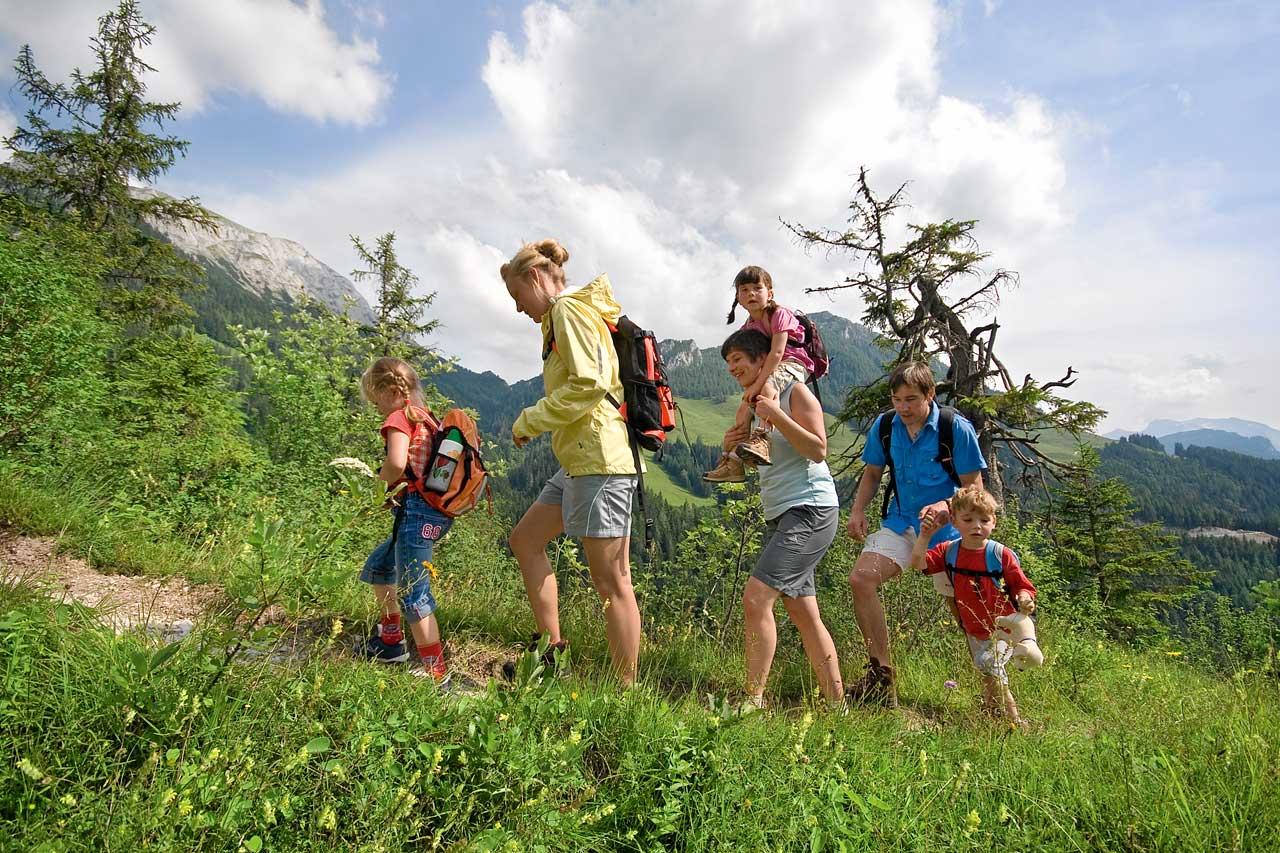 Wandern in den Berchtesgadener Alpen