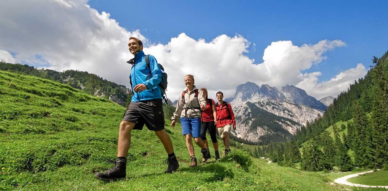 Wandern in Ramsau bei Berchtesgaden am Hintersee