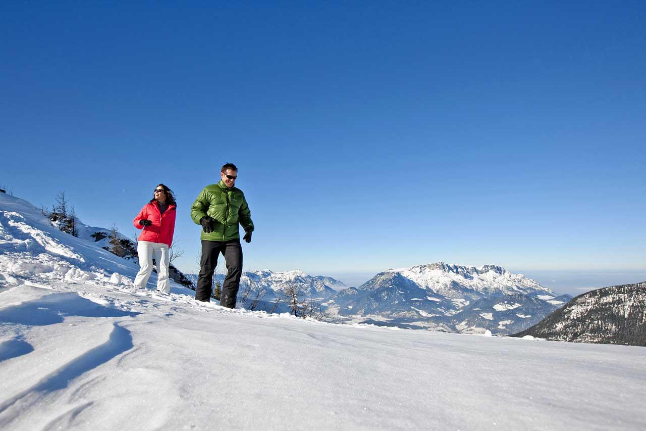 Winterwandern am Rossfeld