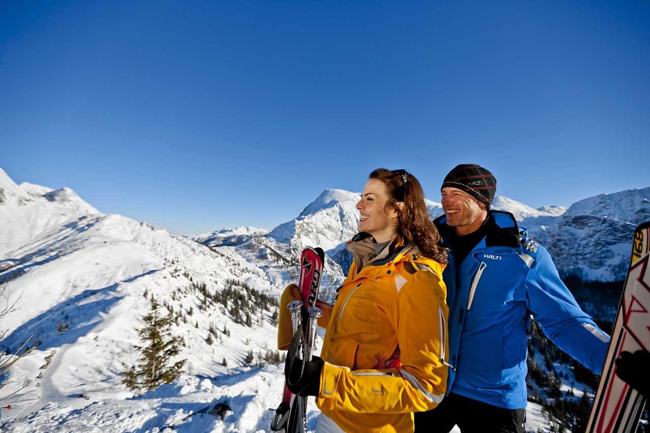 Skifahren am Jenner in Schönau am Königssee