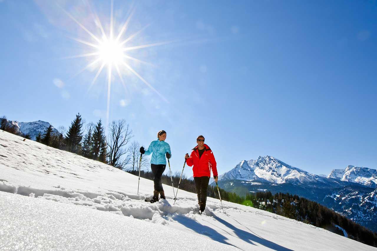 Schneeschuh Wanderung im Berchtesgadener Land